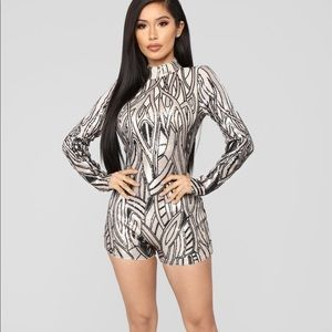 NWT Fashion Nova birthday jumpsuit
